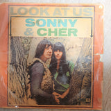 Sonny & Cher ‎– Look At Us - Vinyl LP Record - Opened  - Good Quality (G) - C-Plan Audio