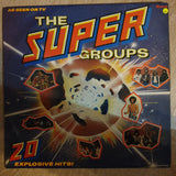 The Super Groups (UK Import) - (Black Sabbath, Who, Deep Purple Hendrix...) -  Vinyl LP Record - Very-Good+ Quality (VG+)