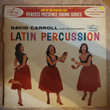 David Carroll And His Orchestra ‎– Latin Percussion - Vinyl LP Record - Opened  - Very-Good Quality (VG)