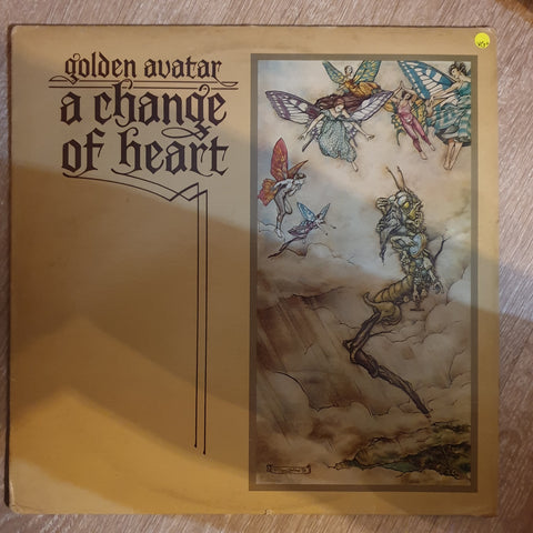 Golden Avatar - A Change Of Heart - Vinyl LP Record - Opened  - Very-Good+ Quality (VG+) - C-Plan Audio