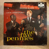 The Five Pennies - Danny Kaye & Louis Armstrong - Vinyl LP Record - Opened  - Good Quality (G) - C-Plan Audio