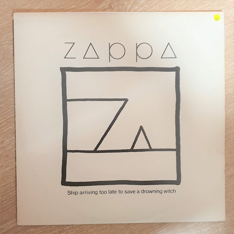 Frank Zappa ‎– Ship Arriving Too Late To Save A Drowning Witch  - Vinyl LP Record - Very-Good+ Quality (VG+) - C-Plan Audio