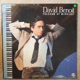 David Benoit ‎– Freedom At Midnight - Vinyl LP Record - Sealed - C-Plan Audio