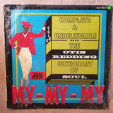 Otis Redding ‎– Complete & Unbelievable - The Dictionary Of Soul - Vinyl LP Record - Opened  - Very-Good Quality (VG) - C-Plan Audio