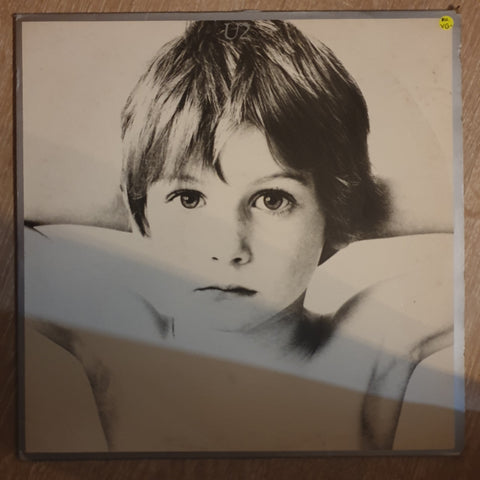 U2 ‎– Boy ‎– Vinyl LP Record - Opened  - Very-Good Quality (VG) - C-Plan Audio