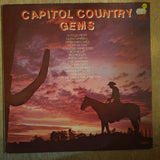 Capitol Country Gems - Original Artists - Vinyl LP Record - Very-Good+ Quality (VG+)