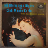 Archie Silansky & His Orchestra - Mediterranean Nights at the Club Monte Carlo ‎– Vinyl LP Record - Opened  - Very-Good Quality (VG)