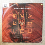 The Outfield ‎– Voices Of Babylon ‎– Vinyl LP Record - Opened  - Very-Good Quality (VG)