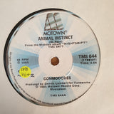 "Commodores ‎– Animal Instinct- Vinyl 7"" Record - Very-Good+ Quality (VG+) - C-Plan Audio"