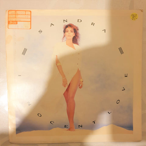 "Sandra ‎– Innocent Love - Vinyl 7"" Record - Opened  - Very-Good Quality (VG) - C-Plan Audio"