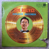 Jim Reeves Golden Records - Volume 1 - Vinyl LP Record - Opened  - Very-Good- Quality (VG-)