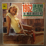 San Remo Festival 1962 - The Twelve Greatest Hits  ‎–  Vinyl LP Record - Opened  - Good Quality (G)