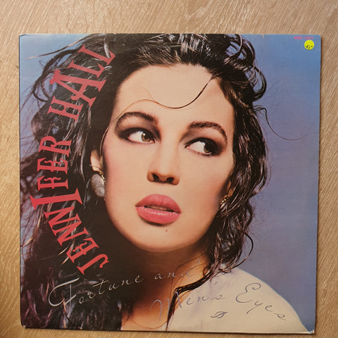 Jennifer Hall - Fortune and Men's Eye's - Vinyl LP Record - Opened  - Very-Good+ Quality (VG+) - C-Plan Audio