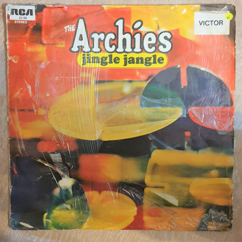 The Archies ‎– Jingle Jangle - Vinyl LP Record - Opened  - Very-Good- Quality (VG-) - C-Plan Audio