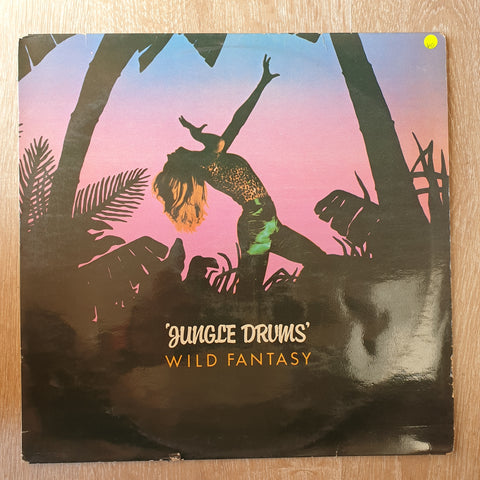 Wild Fantasy - Jungle Drums - Vinyl LP Record - Opened  - Very-Good Quality (VG) - C-Plan Audio