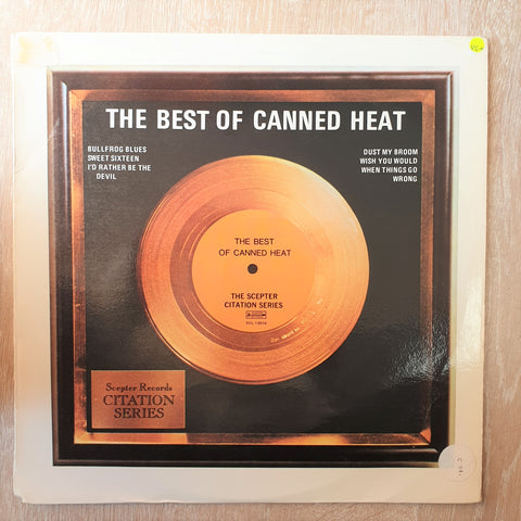Canned Heat ‎– The Best Of Canned Heat - Vinyl LP Record - Opened  - Very-Good+ (VG+) - C-Plan Audio