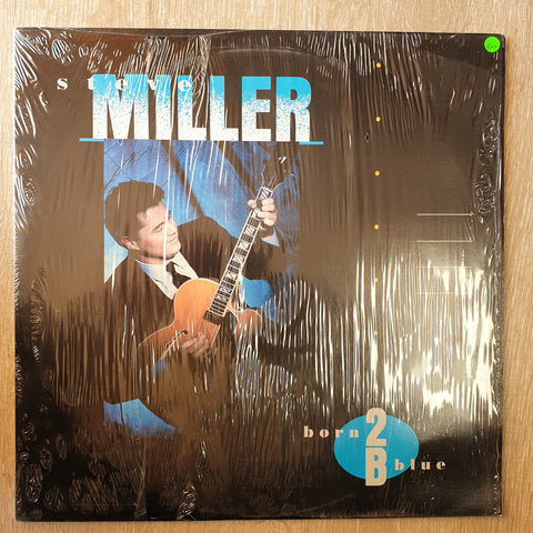 Steve Miller ‎– Born 2B Blue - Vinyl LP Record - Very-Good+ Quality (VG+) - C-Plan Audio