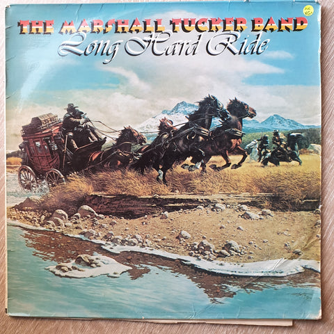 The Marshall Tucker Band ‎– Long Hard Ride - Vinyl LP Record - Very-Good+ Quality (VG+) - C-Plan Audio