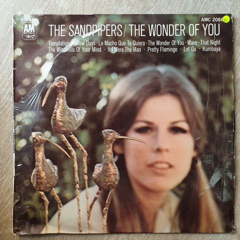 The Sandpipers ‎– The Wonder Of You Vinyl - LP Record - Opened  - Very-Good Quality (VG) - C-Plan Audio