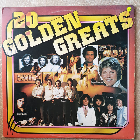 20 Golden Greats - Double Vinyl LP Record - Very-Good+ Quality (VG+) - C-Plan Audio