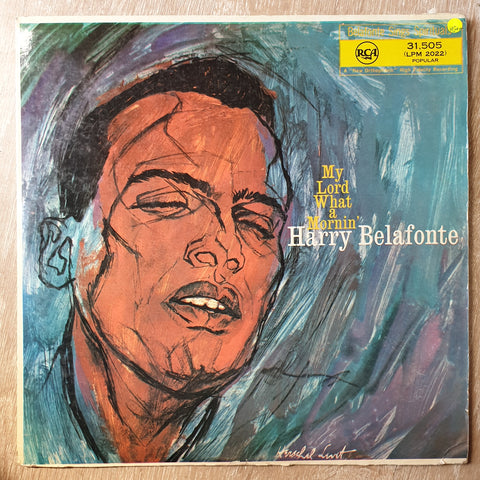 Harry Belafonte ‎– My Lord What A Mornin'- Vinyl LP Record - Very-Good+ Quality (VG+) - C-Plan Audio