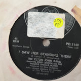 "The Elton John Band ‎– Philadelphia Freedom - Vinyl 7"" Record - Very-Good Quality (VG)"