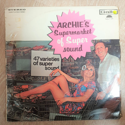 Archie SIlanky - Archies Supermarket Of Super Sound - Vinyl LP Record - Opened  - Very-Good- Quality (VG-) - C-Plan Audio