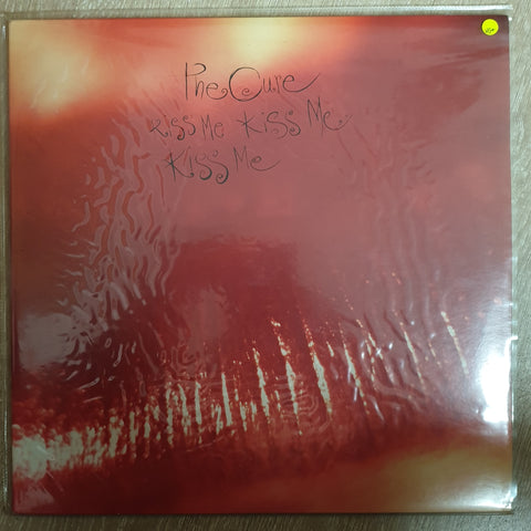The Cure ‎– Kiss Me Kiss Me Kiss Me - Vinyl LP Record - Very-Good+ Quality (VG+) - C-Plan Audio