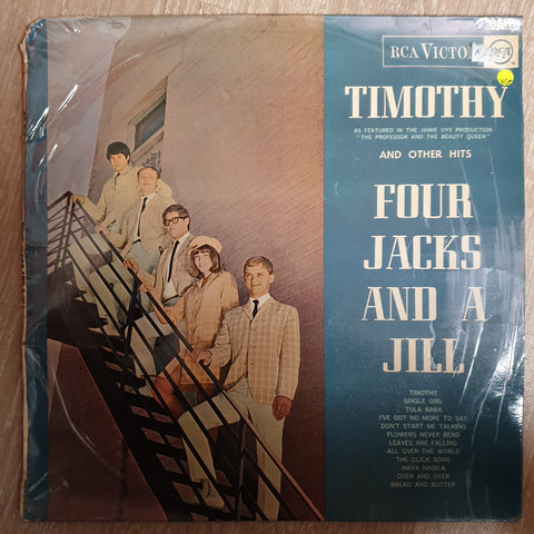 Four Jacks and A Jill - Timothy - Vinyl LP Record - Very-Good+ Quality (VG+) - C-Plan Audio