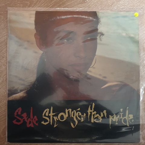 Sade - Stronger Than Pride - Vinyl  LP Record - Opened  - Very-Good Quality (VG) - C-Plan Audio