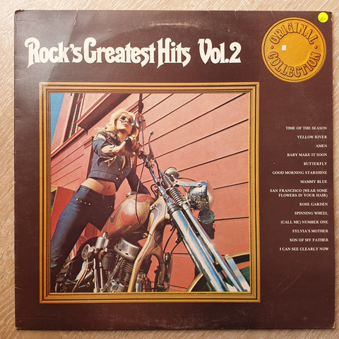 Rocks Greatest Hits - Original Collection - Vol 2  - Vinyl LP - Opened  - Very-Good+ Quality (VG+) - C-Plan Audio