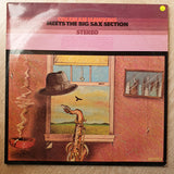 Coleman Hawkins ‎– Meets The Big Sax Section - Vinyl LP Record - Very-Good+ Quality (VG+) - C-Plan Audio