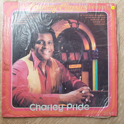 Charley Pride - Country Classics - Vinyl LP Record - Very-Good+ Quality (VG+) - C-Plan Audio