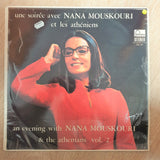 Nana Mouskouri - An Evening With - Une Soirée Avec Nana Mouskouri Et Les Atheniens - Vol. 2 - Vinyl LP Record - Very-Good+ Quality (VG+)