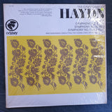 Haydn - Max Goberman, Vienna State Opera Orchestra - Symphony No. 9 In C/ 10 In D/ 11 In E-Flat  ‎– Vinyl LP Record - Very-Good+ Quality (VG+)