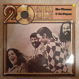 The Mamas & The Papas- 20 Golden Greats - Vinyl LP Record - Very-Good+ Quality (VG+)