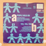 "Coldcut Featuring Lisa Stansfield ‎– People Hold On - Vinyl 7"" Record - Very-Good+ Quality (VG+) - C-Plan Audio"