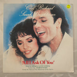 "Cliff Richard, Sarah Brightman ‎– All I Ask Of You - Vinyl 7"" Record - Very-Good+ Quality (VG+)"
