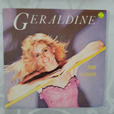 "Geraldine ‎– The Candle - Vinyl 7"" Record - Very-Good+ Quality (VG+)"
