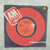 "Sergio Mendes ‎– Never Gonna Let You Go - Vinyl 7"" Record - Very-Good+ Quality (VG+)"
