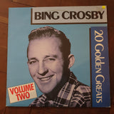 Bing Crosby ‎– 20 Golden Greats Volume Two (German Pressing) - Vinyl LP Record - Very-Good+ Quality (VG+)