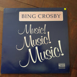 Bing Crosby ‎– Music! Music! Music! - Vinyl LP Record - Very-Good+ Quality (VG+)