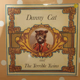 "Alex Learmont and Johnny Boshoff ‎– Danny Cat And The Terrible Twins - Vinyl 7"" Record - Very-Good+ Quality (VG+)"