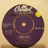"Matt Monro ‎– Born Free - Vinyl 7"" Record - Very-Good+ Quality (VG+)"