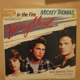 "Mickey Thomas, William Orbit ‎– Stand In The Fire - Vinyl 7"" Record - Very-Good+ Quality (VG+)"