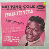 "Nat ""King"" Cole* ‎– Around The World - Vinyl 7"" Record - Very-Good+ Quality (VG+)"