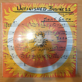 Jimmy Smith ‎– Unfinished Business - Vinyl LP Record - Very-Good+ Quality (VG+)