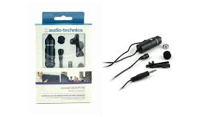 Audio Technica ATR-3350IS (Omnidirectional Lavalier Microphone (also works with Smartphones) (3350)