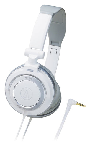 Audio Technica ATH-SJ55WH Audio Technica On-Ear Headphone - White - CPlan Audio