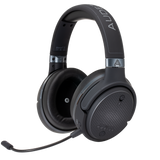 Audeze Mobius Premium 3D Gaming Headset (Carbon Colour)  with Surround Sound, Head Tracking and Bluetooth. Over-Ear Gaming Headphones for PCs, Playstation 4 and Others.....  (Ships in 2-3 Days) - C-Plan Audio